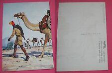 CARTOLINA COLONIALE ARTIGLIERIA COLONIALE DELLA SOMALIA- FERRARI