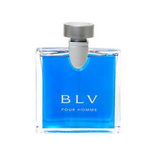 New In Box BLV Pour Homme by Bvlgari 3.4 oz 100ml EDT Spray For Men Cologne