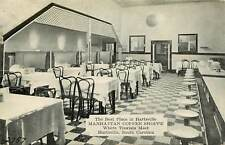 South Carolina, SC, Hartsville, Manhattan Coffee Shoppe 1941 Postcard