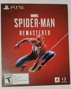 Spider-Man Remastered PS5