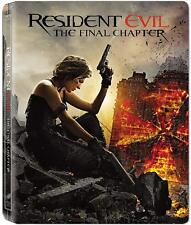 Resident Evil - The Final Chapter (Blu-ray Steelbook) BRAND NEW