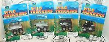 4 LOT - WILD TREKKERS OFF ROAD FRICTION RACER TOY DOLPHIN, WHALE, & SHARKS 2016
