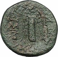 Lysimacheia in Thrace 309BC RARE Ancient Greek Coin Young Hercules NIke i46500