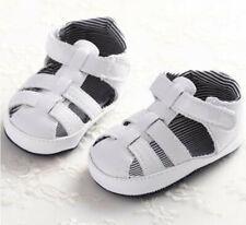 Infant Toddler Boys Moccasins Prewalker Summer Sandle Crib Shoes SH199