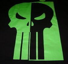 Glow In The Dark Punisher Logo L Large T-Shirt New Marvel Comics Tee