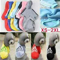 New/Dog Cat Pet Warm Cotton Jacket Coat Hoodie Puppy Winter Clothes Pet Costume☆