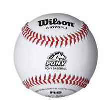 Wilson Pony League Raised Seam Baseball - Dozen