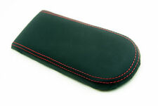 VW JETTA VENTO GTI MK4 Center Console Armrest Leather Red Stitch For 99-04
