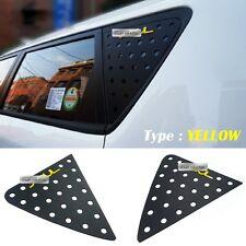 C Pillar Window Glass Sports Plate Molding Yellow Logo Emblem For KIA 14-18 Soul