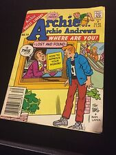 Archie... Archie Andrews Where Are You? Comics Digest Magazine #70 October 1990
