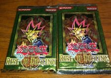 2- Yu Gi Oh Rise of Destiny English Booster Packs English Edition