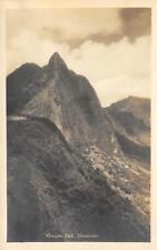 RPPC NUUANU PALI Honolulu, Hawaii Oahu ca 1930s Vintage Real Photo Postcard