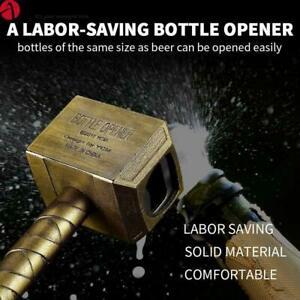 Beer Bottle Opener(Bronze) - Hammer of Thor Wine Corkscrew Beverage Wrench Jar