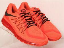 great fit bf2ee 1de54 Nike 724367-600 Air Max 2015 Anniversary Crimson Running Sneakers Men s US  12.5