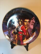 Hamilton Collection 1992 Limited Collectible Star Wars Plate Very Nice!