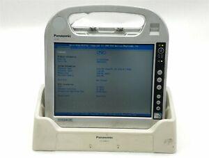 Panasonic Toughbook CF-H1 Tablet Atom 2540 1.86GHz CPU 2GB RAM w/Dock + Battery