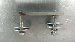 FERRARI 308 GTSi B0035779 FRONT TRUNK LOCK RIGHT OR LEFT FASTENING KIT PLATE