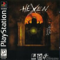 Hexen: Beyond Heretic (Sony PlayStation, PS1, PSX, 1997)