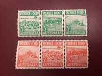 ICOLLECTZONE Australia 352, 355 VF middle Stamp LH/ others NH