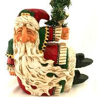 David Frykman Christmas Musical Wind Up Santa Claus 1997