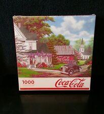 NEW COCA COLA 1000 PC COKE JIGSAW PUZZLE BY SPRINGBOK 1936 FORD TEXAS TRUCK NIB