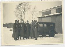 Foto PKW / KfZ mit  Luftwaffen-Soldaten (4870)