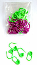 Knitpro Locking Lock Ring Stitch Markers Pack of 30 - Two Colours