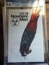 NOWHERE MEN #3 CGC 9.8 FIRST PRINT IMAGE COMICS