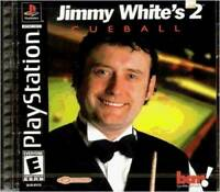 Jimmy White's 2: Cueball - Video Game - VERY GOOD