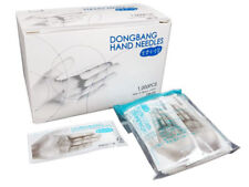 DongBang Disposable Acupuncture Hand Medical 0.18x8mm Needles 1000pcs