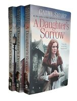 Cathy Sharp 3 Books East End Daughters -Saga Daughter's Sorrow Choice Dream New