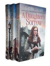 Cathy Sharp 3 Books East End Daughters -Saga Daughter's Sorrow Choice Dream New