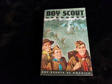 52.  Boy Scout 1968 Hiking Cover Handbook  never used