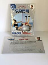 Gunnar's CORE Secrets Full Body Workout/Accelerated Core Training DVD/Flashcards
