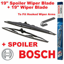 """Bosch 19"""" Inch SPOILER and 19"""" Wiper Blade Double Pack Universal SP19/19S"""