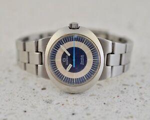 OMEGA Dynamic Geneve lady steel Vintage 1970 watch with bracelet