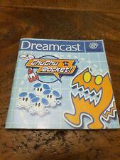 Chu Chu Rocket  Sega Dreamcast  Manual Only