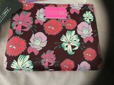 Marc Jacobs Alice in Wonderland Disney Sp Ed Rare Double Zip Pouch/Case Nwt Sd O