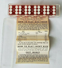 Vintage Casino Gamed Used Dice Tropicana Resort Casino Numbered 451, 5 Count