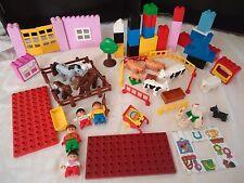 GROS LOT LEGO DUPLO ** FERME ** BRIQUES VRAC  KG PLAQUE
