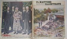 1933 Treno precipita per Uragano Casa di D Annunzio Terracina Sovrani Bulgaria