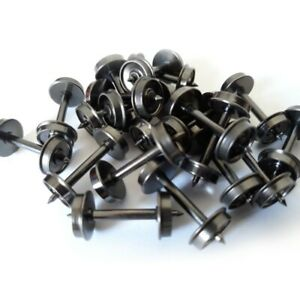 "InterMountain 4005620 - 36"" HO Scale 20 pack Metal Wheel Set"