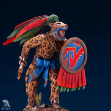 Aztec Jaguar Warrior Tin Painted Toy Soldier Pre Sale | Collectible