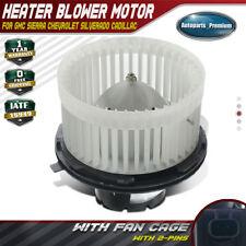 Heater Blower Motor AC Fan for GMC Chevy Silverado Tahoe Sierra Yukon Cadillac