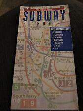 1996 May NYC Subway Map