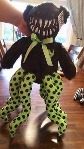 Hugstrosity Teddy Bear Octopus Monster Stuffed Animal Plush Spider Creepy
