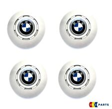 NEW GENUINE BMW 7 SERIES E38 ALLOY WHEEL HUB CENTER CAPS SET OF FOUR STYLE 6