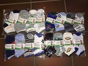 12 Paar Jungen Sneaker Socken Gr. 23-26 / 27-30 / 31-34 / 35-38 *95% Baumwolle