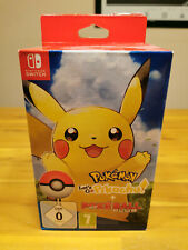 Pokemon Let's Go Evoli & pokeball plus ► Nintendo switch alemán ◄ nuevo & OVP