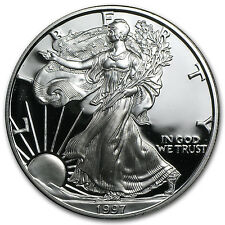 1997-P 1 oz Proof Silver American Eagle (w/Box & COA) - SKU #1065